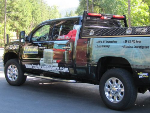Commercial Truck Consulting Company Truck