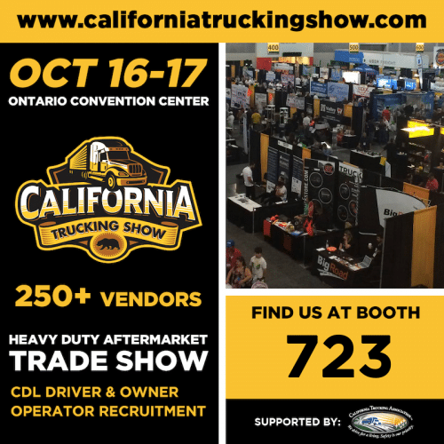 Join us at the California Trucking Show