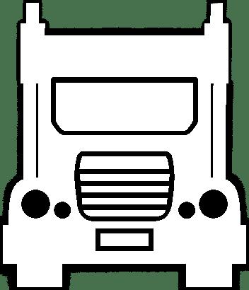 Truck Icon Wht
